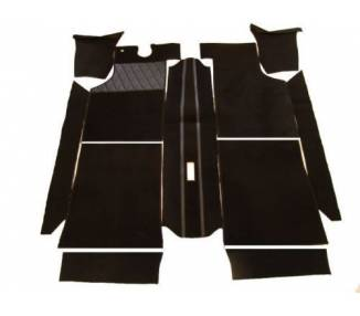 Complete interior carpet kit for Autobianchi A112 series 1 + 2 from 1969-1975 (only LHD)