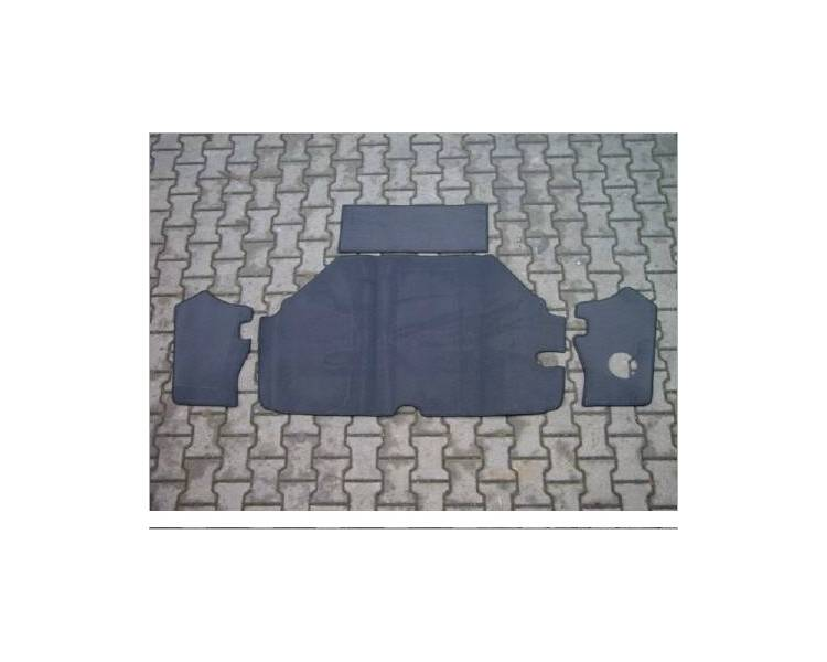 Trunk carpet for BMW 1502 - 1602 - 1802 - 2002 ti and tii 1966-1977 (only LHD)