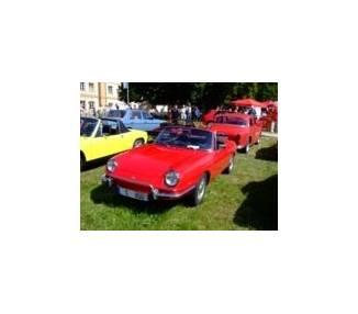 Moquette de coffre pour Fiat 850 Spider 1965-1973