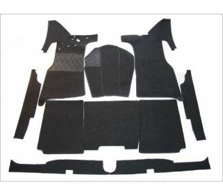 Complete interior carpet kit for Mercedes-Benz W191 170Sb 170 DS limousine from 1949-1955 (only LHD)