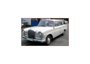 Mercedes-Benz W110 with stic shift from 1961-1968 (only LHD)