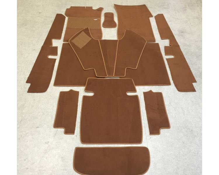 Complete interior carpet kit for Mercedes-Benz W111 limousine from 1959-1968 (only LHD)