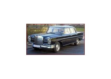 Mercedes-Benz W111 limousine from 1959-1968 (only LHD)