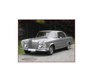 Complete interior carpet kit for Mercedes-Benz W111 coupé flat radiator from 1968-1972 (only LHD)