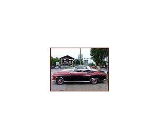 Moquette de sol pour Mercedes-Benz Ponton Cabriolet W128-W180II 1954-1960