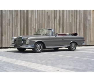 Moquette de sol pour Mercedes-Benz W111 Cabrio radiateur haut 1959-1968
