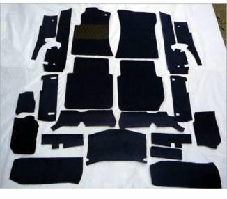 Complete interior carpet kit for Mercedes-Benz W126 SEL 1979-1985