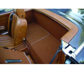 Complete interior carpet kit for Mercedes-Benz Pagode SL W113 1963-1971 manuel without jump seat (only LHD)