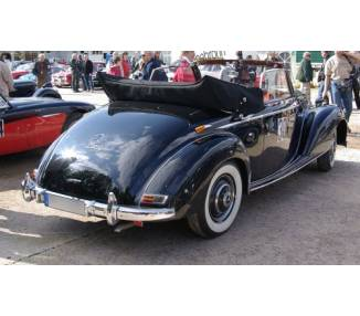 Complete interior carpet kit for Mercedes-Benz 4 seats W187 220 A Cabrio from 1951-1955 (only LHD)