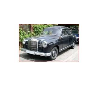 Moquette de sol pour Mercedes-Benz Ponton W120 Limousine petite 180-180D 1953-1962