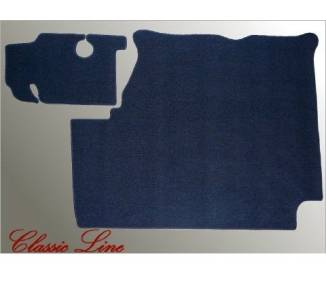 Trunk carpet for Mercedes-Benz Pagode SL W113 with horizontal spare wheel 1963-1971 (only LHD)