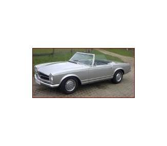 Moquette de coffre pour Mercedes-Benz Pagode SL W113 avec roue de secours à la verticale 1963-1971