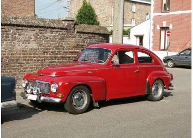 Volvo Amazone PV444/544 from 1947-1962 (only LHD)