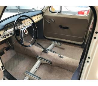 Complete interior carpet kit for Volvo Amazon PV444/544 from 1947-1962 (only LHD)