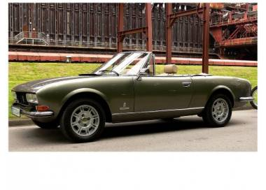 Peugeot 504 cabriolet from 1968-1984 (only LHD)