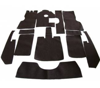 Complete interior carpet kit for Mercedes-Benz W153 A 230 cabriolet from 1938-1940 (only LHD)