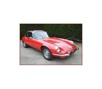 Complete interior carpet kit for Jaguar E-Type series 3 coupé V12 from 1971-1974 (only LHD)