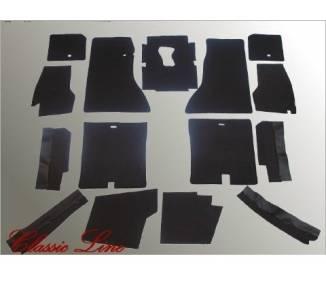Moquette de sol pour Jaguar E-Type Serie 2 Coupé plancher non plat
