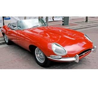 Moquette de sol pour Jaguar E-Type Serie 2 Roadster plancher non plat