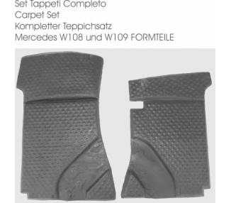 Complete interior carpet kit for Mercedes-Benz W109 SEL 1965–1972