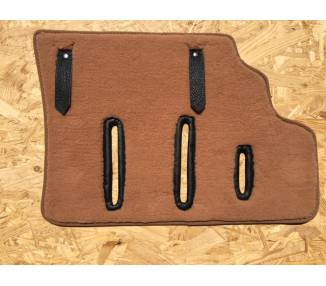 Complete interior carpet kit for Porsche 911 coupé/Targa from 1978-1983 (only LHD)