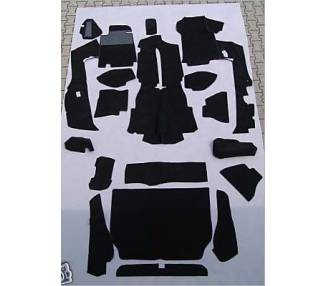 Complete interior carpet kit for Porsche 928S manual transmission from 1980-1986 (only LHD)