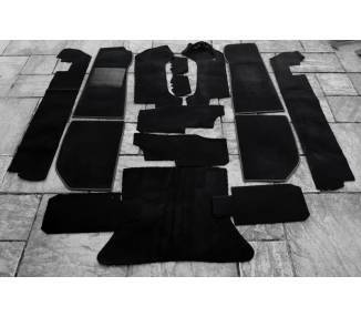 Complete interior carpet kit for Jaguar XJS cabriolet with back seats from 1976-1981 (only LHD)