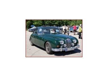 Jaguar MK II trunk carpet (only LHD)