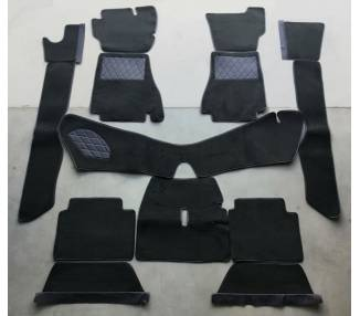 Complete interior carpet kit for Alfa Romeo Montreal from 1970-1977 (only LHD)