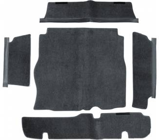 Trunk carpet for Alfa Romeo Montreal 1970-1977 (only LHD)