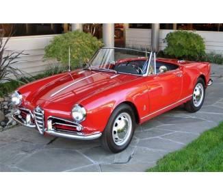 Moquette de sol pour Alfa Giulia Spider / Giulietta Spider / Giulia Spider Veloce / Giulietta Spider Veloce 1955-1965