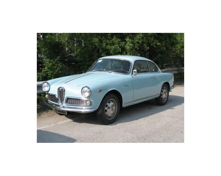 Moquette de sol pour Alfa Romeo Giulietta Sprint & Giulia Sprint Type 750 1954-1958