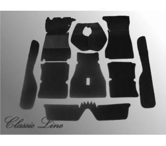 Moquette de sol pour Alfa Romeo Giulia Sprint GT/GTV Serie 2 (Double phares)