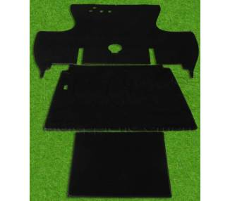 Complete interior carpet kit for Renault 4CV from 1946-1961 (only LHD)