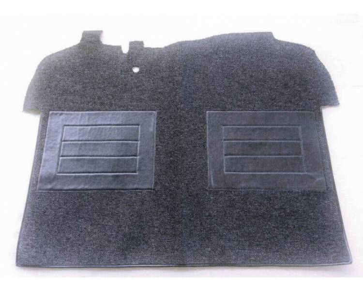 Complete interior carpet kit for Peugeot 204 coupé from 1966-1970 (only LHD)