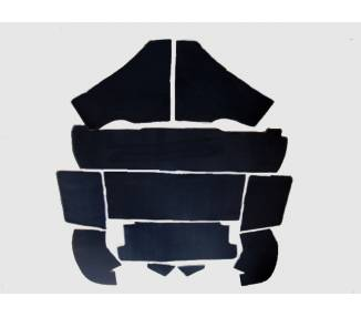 Trunk carpet for Ferrari 208 GT4 and 308 GT4 Dino 1974-1980 Euro-Version 1974-1980 (only LHD)