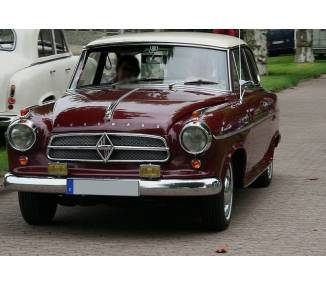 Complete interior carpet kit for Borgward Isabella coupé from 1954–1961 (only LHD)