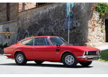 Fiat Dino 2000 Coupé from 1966-1972 trunk carpet (only LHD)