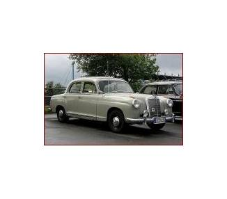 Trunk carpet for Mercedes-Benz Ponton limousine big W105-W180I-W180II-W128 from 1954-1960 (only LHD)