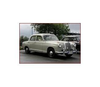 Moquette de coffre pour Mercedes-Benz Ponton Limousine grande W105-W180I-W180II-W128 1954-1960