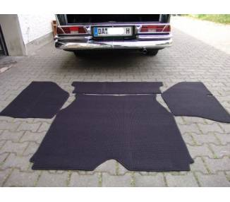 Trunk carpet for Mercedes-Benz W111 limousine from 1959-1968 from wool