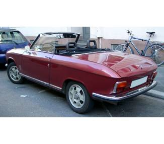 Complete interior carpet kit for Peugeot 304 cabriolet from 1970-1975 (only HD)