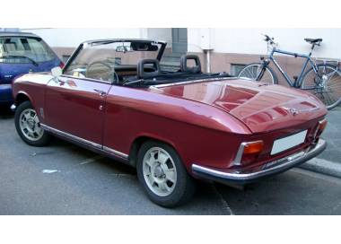 Peugeot 304 cabriolet from 1970-1975 (only HD)