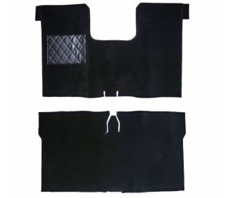 Complete interior carpet kit for Renault 16 from 1965-1980 (only LHD)