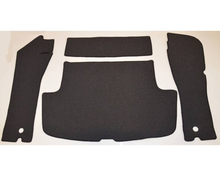 Trunk carpet for Volvo P1800E Coupé from 1969-1972 (only LHD)