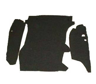 Trunk carpet for Porsche 911/912 from 1965-1968 set