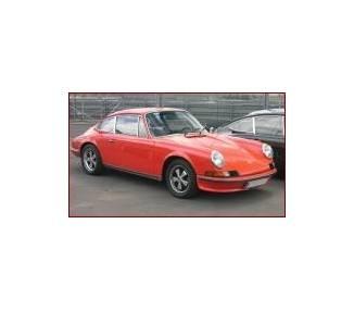 Moquette de coffre pour Porsche 911/912 avec bouttons pressions 1965-1968