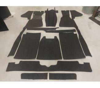 Complete interior carpet kit for Mercedes-Benz W153 limousine from 1938-1940 (only LHD)