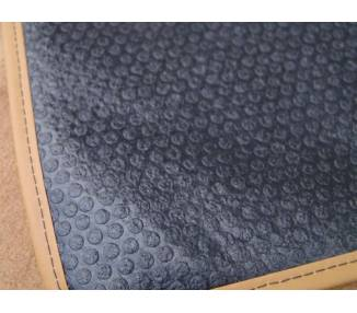 Carpet mats for Porsche 911 G series 2.7L + 3.0L Carrera (not SC) from 1974-1977 (only LHD)