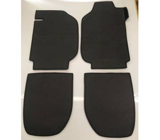 Carpet mats for Porsche 911 coupé  or Targa G series 3.0L SC from 1978-1983 (RHD and LHD)